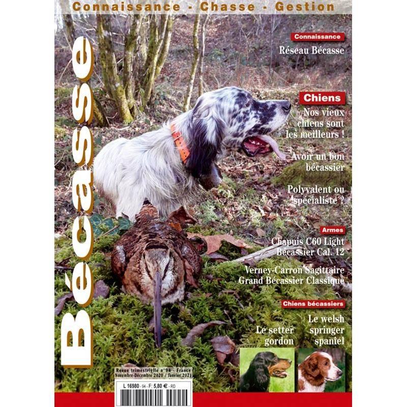 Abonnement Magazine Bécasse : Connaissance, Chasse, Gestion