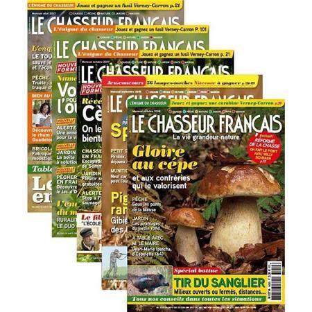 ABONNEMENT MAGAZINE LE CHASSEUR FRANÇAIS