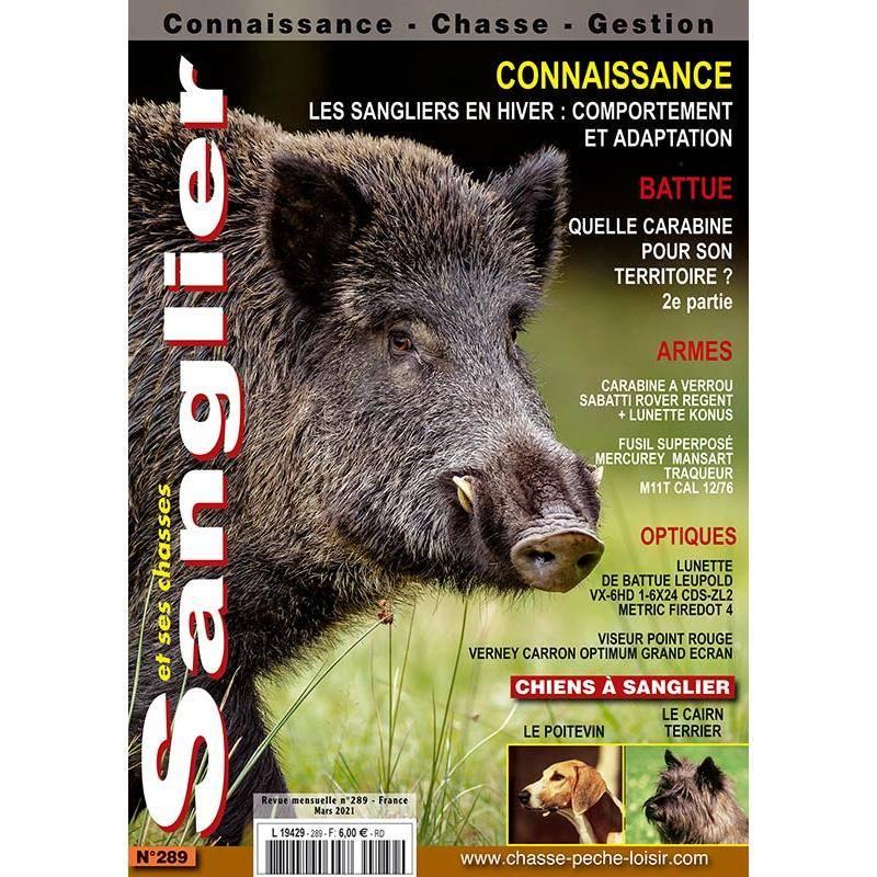 Abonnement Magazine Sanglier : Connaissance, Chasse, Gestion