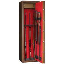 """Armoire forte infac gamme """"wood look"""" l"""