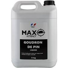 Attractif sanglier naturamax max attract goudron de pin jerrican  - 5kg