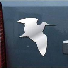Autocollant europ arm logo chrome 3d