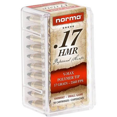 Balle 17Hmr Norma V-Max - Calibre 17Hmr
