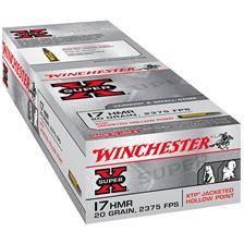 Balle 17hmr winchester super-x jhp - calibre 17hmr