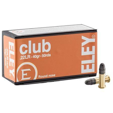 Balle 22Lr Eley Club - Calibre 22Lr