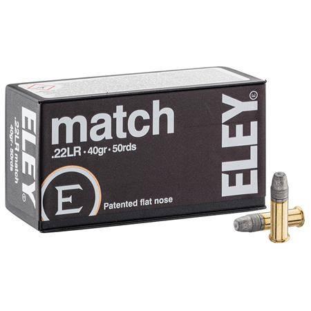 Balle 22Lr Eley Match - Calibre 22Lr