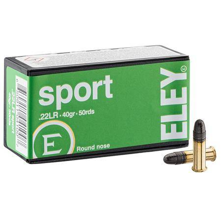 Balle 22Lr Eley Sport - Calibre 22Lr