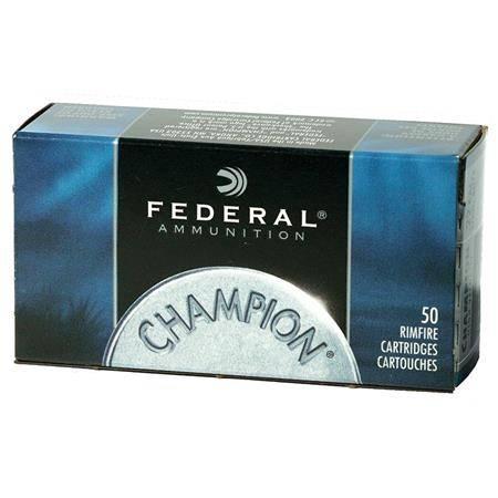 Balle 22Lr Federal Champion Rimfire - 36Gr - Calibre 22Lr