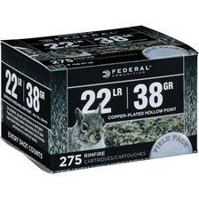 Balle 22lr federal range & field - calibre 22lr