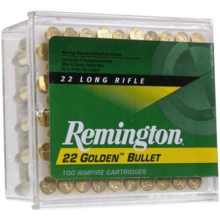 Balle 22Lr Remington Golden Bullet - Calibre 22Lr