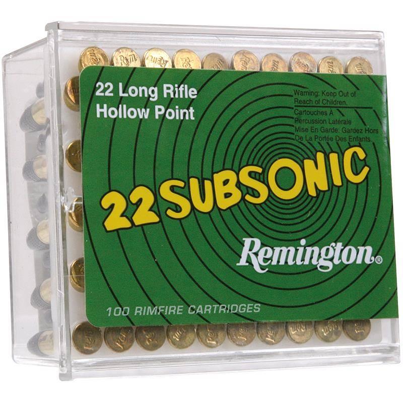 Balle 22Lr Remington Subsonic - Calibre 22Lr