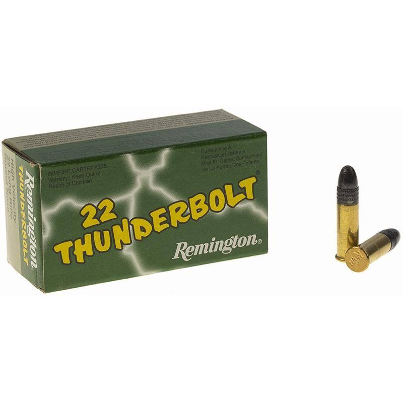 Balle 22Lr Remington Thunderbolt - Calibre 22Lr