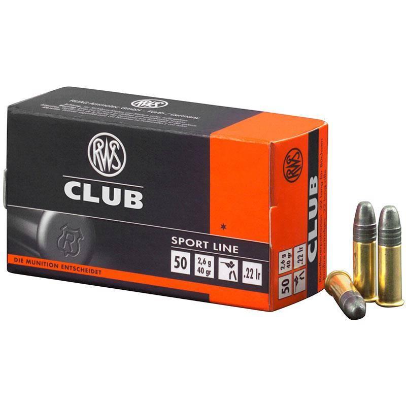 Balle 22Lr Rws Club - Calibre 22Lr