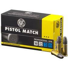 Balle 22lr rws pistol match - calibre 22lr