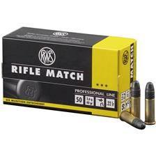 Balle 22lr rws rifle match - 2.6g - calibre 22lr