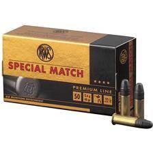 Balle 22lr rws special match - 2.6g - calibre 22lr