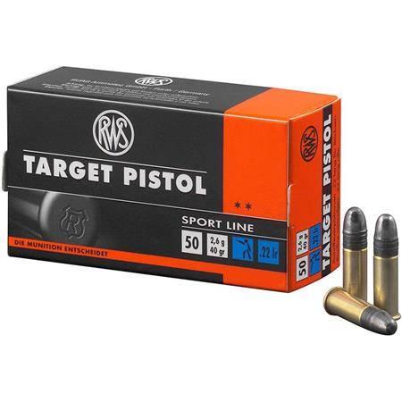 Balle 22Lr Rws Target Pistol - Calibre 22Lr