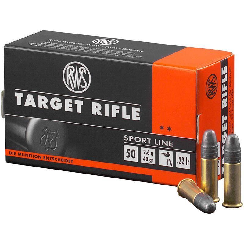 Balle 22Lr Rws Target Rifle - Calibre 22Lr