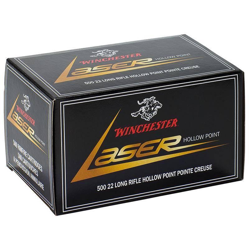 Balle 22Lr Winchester Laser - Calibre 22Lr