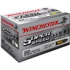 Balle 22lr winchester super speed - calibre 22lr