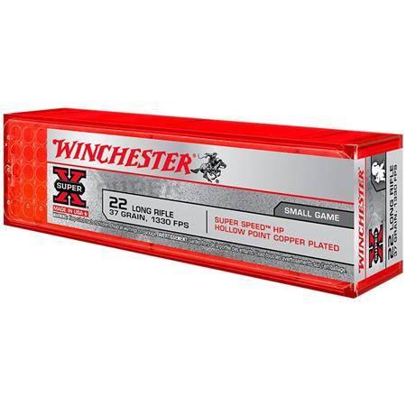 Balle 22Lr Winchester Super-X - Calibre 22Lr