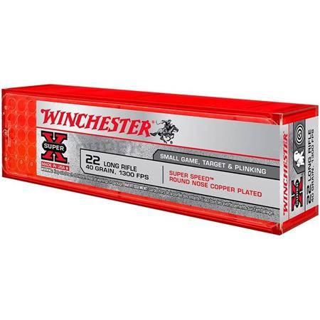 Balle 22Lr Winchester Super X Cp - 40Gr - Calibre 22Lr