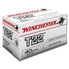 Balle 22lr winchester t22 - calibre 22lr