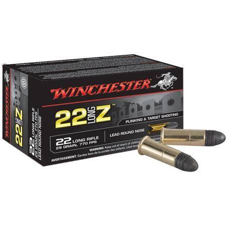 Balle 22Lr Winchester Zimmer - Calibre 22Lr