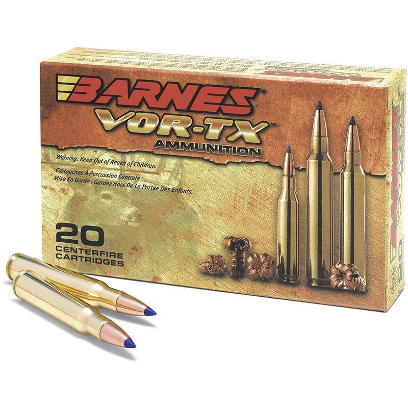 BALLE DE CHASSE BARNES VOR-TX - 150GR - CALIBRE 308 WIN