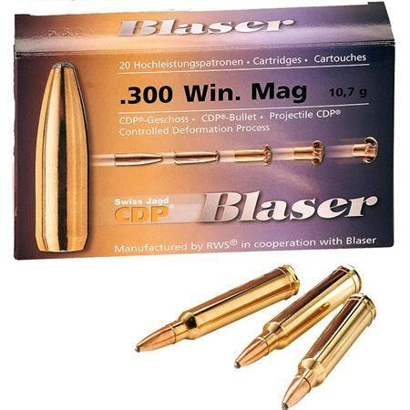Balle De Chasse Blaser - 165Gr - Calibre 30R Blaser