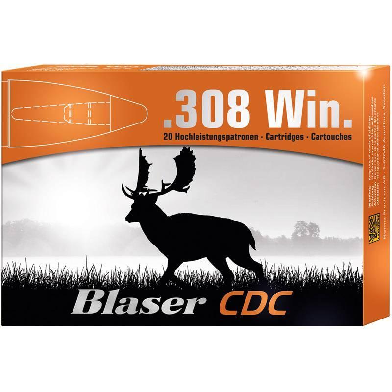 Balle De Chasse Blaser Cdc Sans Plomb - 160Gr - Calibre 308 Win