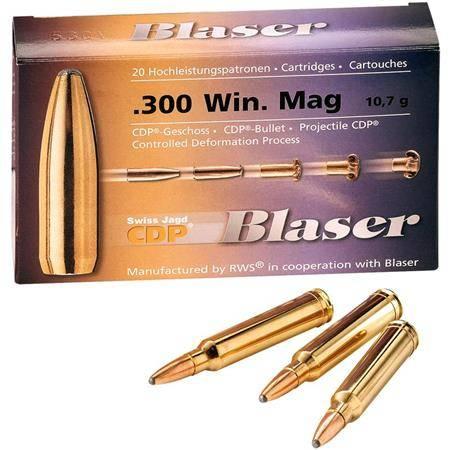 Balle De Chasse Blaser Cdp A Gorge - 196Gr - Calibre 8X57 Jrs