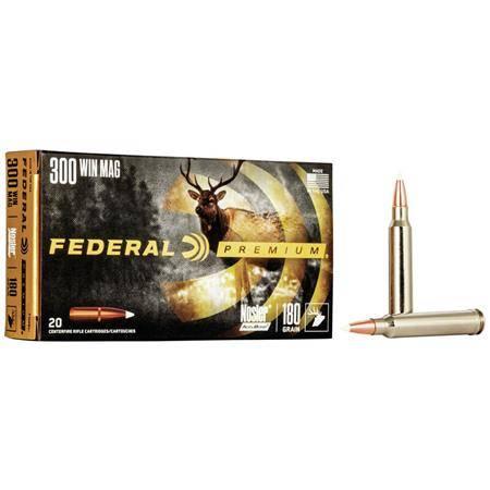 Balle De Chasse Federal Nosler Accubond Vital Shok - 160Gr - Calibre 7 Rm