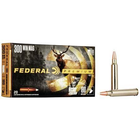 Balle De Chasse Federal Nosler Accubond Vital Shok - 90 Gr - Calibre 243 Win