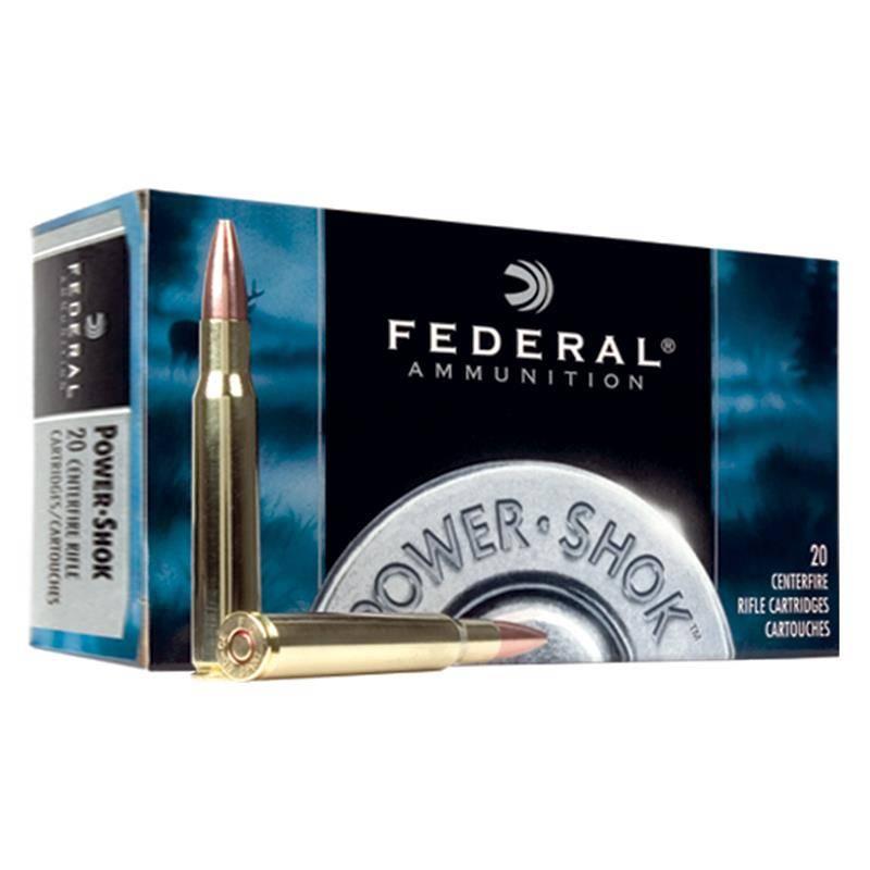 Balle De Chasse Federal Soft Point Powershok - 100 Gr - Calibre 243 Win