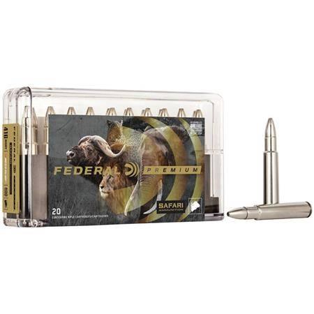 Balle De Chasse Federal Trophy Bonded Bear Claw Cape Shok - 300Gr - Calibre 375 H&H