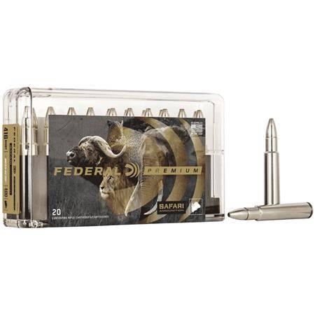 BALLE DE CHASSE FEDERAL TROPHY BONDED BEAR CLAW CAPE SHOK - 500GR - CALIBRE 458 WIN MAG
