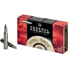 Balle de chasse federal trophy bonded tip vitalshok - 180gr - calibre 30-06 sprg