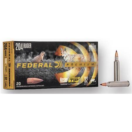 Balle De Chasse Federal V Shok - 70Gr - Calibre 243 Win
