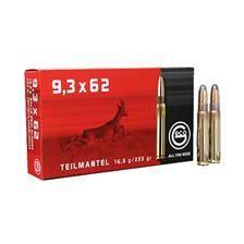 Balle de chasse geco demi blindee - 255gr - calibre 9.3x62