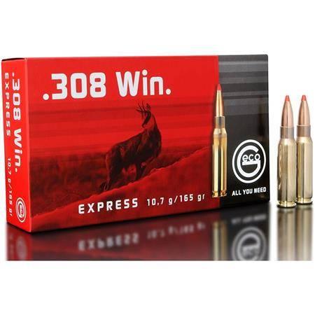 Balle De Chasse Geco Express - 165Gr - Calibre 308Win