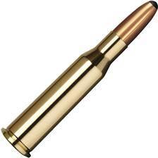 Balle de chasse norma alaska - 196gr - calibre 8x57 js