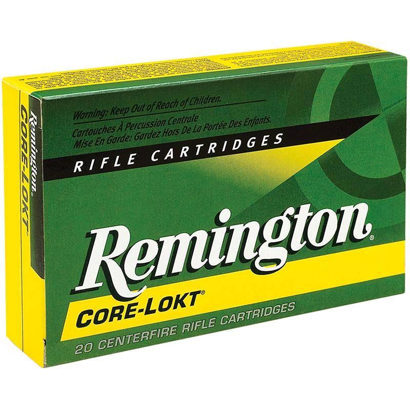 Balle De Chasse Remington - 150Gr - Calibre 30-06 Sprg