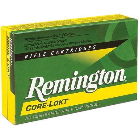 Balle De Chasse Remington - 170Gr 1/2 Blindée Sp - Calibre 30-30 Win