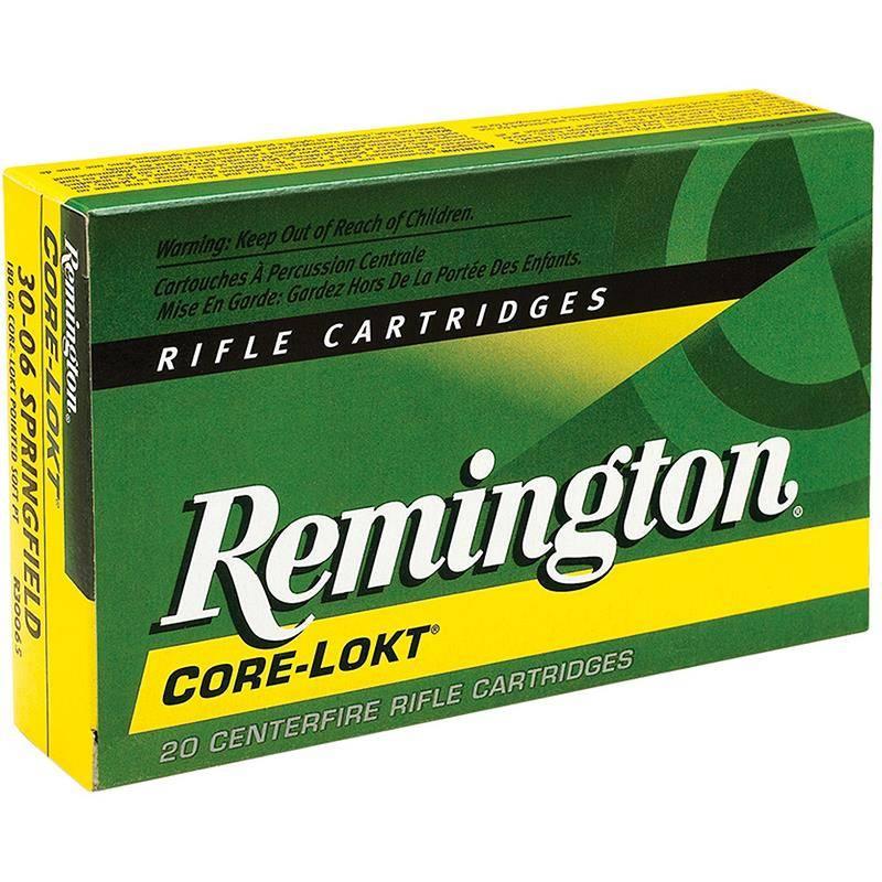 Balle De Chasse Remington - 180Gr - Calibre 30-06 Sprg