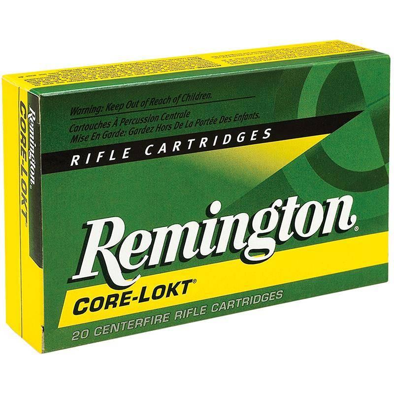 Balle De Chasse Remington - 220Gr - Calibre 30-06 Sprg