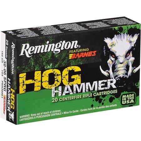 Balle De Chasse Remington Hog Hammer - 180Gr - Calibre 308 Win