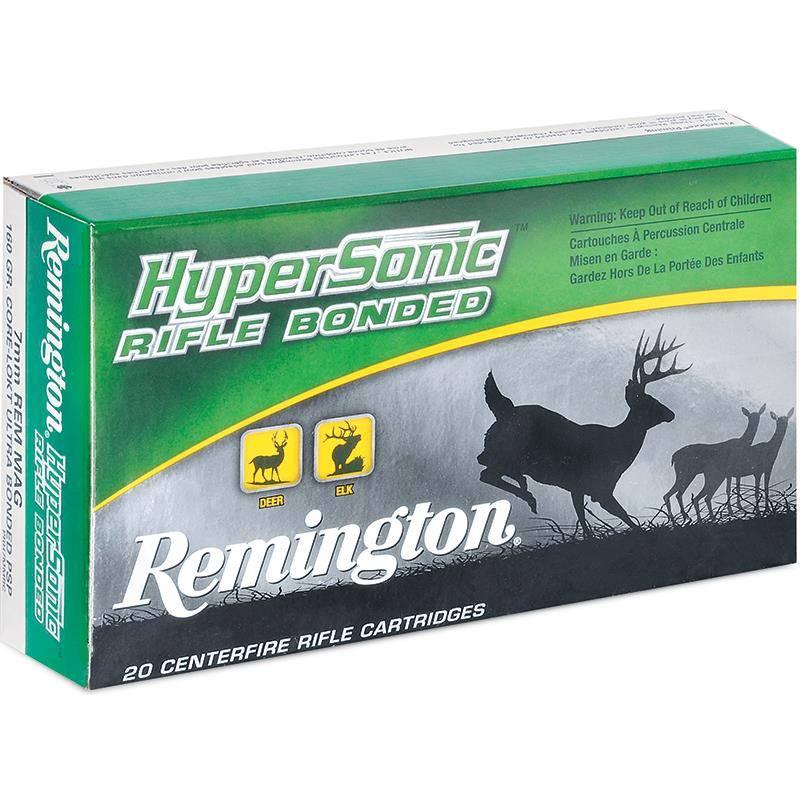 Balle De Chasse Remington Hypersonic - 100Gr - Calibre 243 Win