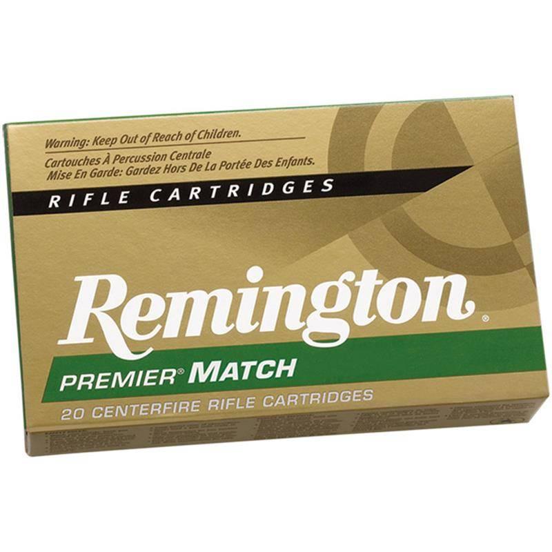 Balle De Chasse Remington Match - 168Gr - Calibre 308 Win