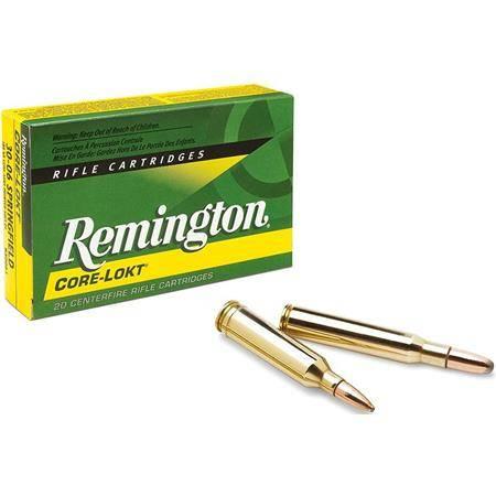 Balle De Chasse Remington Pointe Creuse Cl - 170Gr  - Calibre 30-30 Win